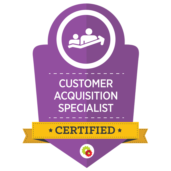 customer acquisition specialist certification for planet convert